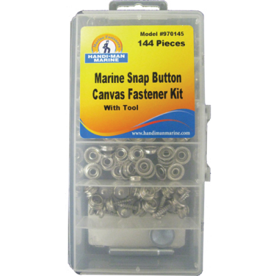 CANVAS FASTENERS AND TOOL KIT