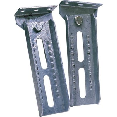 ADJUSTABLE BOLSTER BRACKETS AND SWIVEL BRACKET