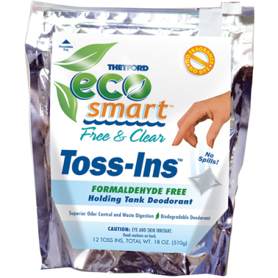 ECO-SMART FREE & CLEAR TOSS-INS